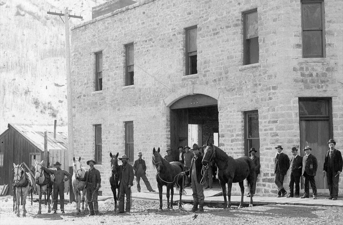 Historic photo of the Transfer Warehouse